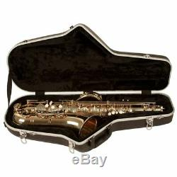 New Guardian CW-041-ST ABS Hardshell Case for Tenor Saxophone, Black