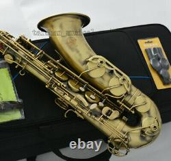 New professional TaiShan antique Tenor Saxophone italian Pads Quality saxofon