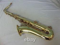 Nice! Abi Tenor Saxophone + Mpiece + Case + Extras