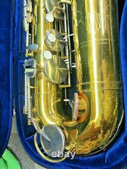 Nice King Cleveland 615 Bb Tenor Saxophone, New Pads & Case, Great Player, SAX