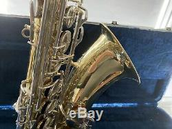 OLDS NA66MN TENOR SAX WithCASE EXCELLENT CONDITION