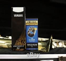 OVERHAULED BUNDY Bb TENOR SAX W NEW CASE, YAMAHA MOUTHPIECE & ROVNER LIGATURE