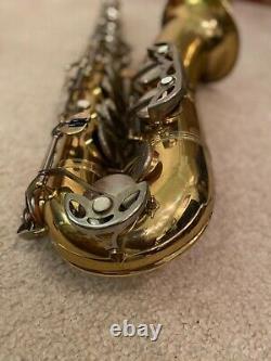 Older Evette Schaeffer By Buffet Tenor Saxophone With Case