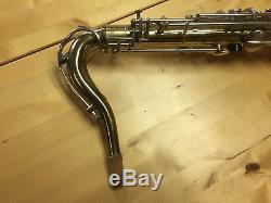 Orpheum Luxe (rampone & Cazzani Stencil) Tenor Saxophone With Upscale Case