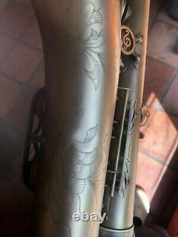 P. Mauriat PMXT 66R Tenor Saxophone Dark Lacquer WITH Bam Softpack case