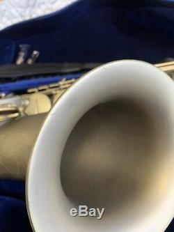 P Mauriat PMXT-66R Tenor Saxophone vintage dark lacquer case/mouthpiece