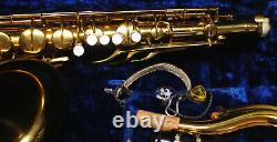 Pan American (CONN) 60M Tenor saxophone with case & mouthpiece EXCELLENT cond