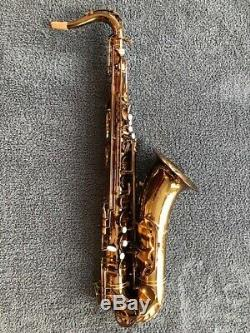 Phil Barone Vintage Gold Tenor Sax Saxophone with Case & Accessories