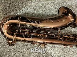 Phil Barone Vintage tenor saxophone in Vintage Gold Lacquer, near mint with case