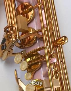 Pink Tenor Sax Brand New STERLING Bb Saxophone NEW Case and Accessories