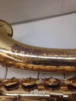 Pre-Owned Vintage 1970 CONN Shooting Star Tenor Saxophone + Conn Hard Case
