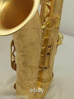 Professional Eastern Music Germany copper Tenor Saxophone Reference 54 with case
