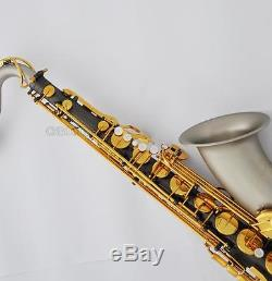 Professional New B-Flat Tenor Saxophone unique Sax Pearl button With Case