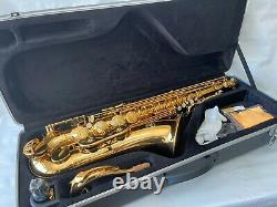 Professional OPUS High Quality Gold Tenor Saxophone Bb Sax Gold Bell With Case