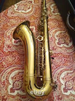 Professional Vintage 1977 HENRI SELMER PARIS Tenor Saxophone MARK VII SN272833
