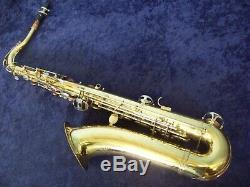 Quality! Ambassador Tenor Saxophone + Mpiece + Case Made In Italy + Bonus