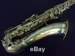Quality Classic! Conn 10m'naked Lady' Tenor Saxophone + Case Made In USA