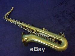 Quality! Selmer Bundy II USA Tenor Saxophone + Bundy II Case