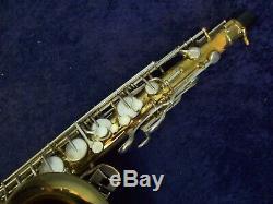 Quality! Selmer Bundy II USA Tenor Saxophone + Mouthpiece + Selmer Case