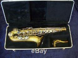 Quality! Selmer Bundy II USA Tenor Saxophone + Selmer Company Case