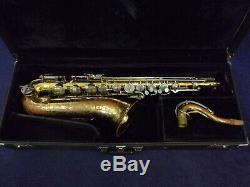 Quality! Selmer Bundy USA Tenor Saxophone + Case