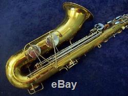 Quality! Selmer Bundy USA Tenor Saxophone + Mouthpiece + Selmer Case