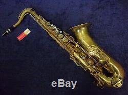 Quality! Selmer Signet Tenor Saxophone + Mouthpiece + Case