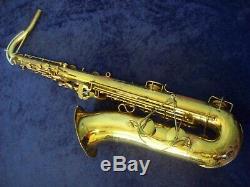 Quality Selmer Signet Tenor Saxophone + Selmer Case
