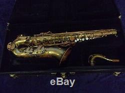 Quality! Selmer USA Signet Tenor Saxophone + Case