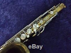 Quality Vintage! Bundy H & A Selmer Tenor Saxophone Made In The USA + Case
