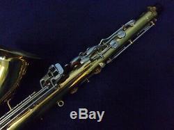 Quality Vintage Bundy Selmer USA Tenor Saxophone + Mouthpiece + Case