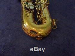 Quality Vintage Bundy Selmer U. S. A. Tenor Saxophone + Case