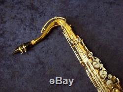 Quality Vintage Bundy Selmer U. S. A. Tenor Saxophone + Mouthpiece + Case + Bonus