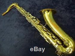 Quality Vintage Conn 16m'shooting Stars' USA Tenor Saxophone + Case