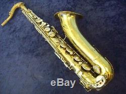 Quality Vintage Conn 16m'shooting Stars' USA Tenor Saxophone + Conn Case