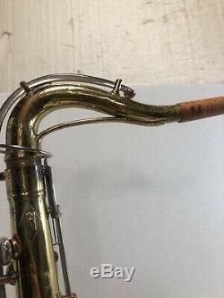 Quality Vintage! Conn 16m'shooting Stars' USA Tenor Saxophone + Conn Case