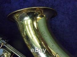 Quality! Vito Made In Japan By Yamaha Tenor Saxophone + Case
