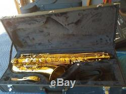 RS Berkeley Elite Series Bb Tenor Saxophone, TS533 with case and accessories