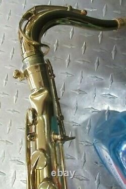 Rare 1974 Selmer Mark VI Tenor Saxophone With Original Case! Must See