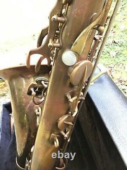 Rare Selmer 1948 Super (Balanced) Action Tenor Saxophone SBA ToneX Resonators