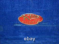 Rare Vintage H. N. White Co. King Saxophone Doubler Case Fits Tenor & Soprano