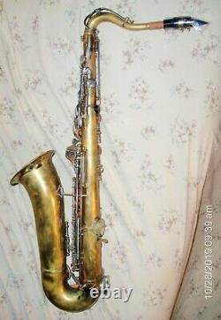 Rare Vintage Kimberly Tenor Saxophone With Original Case & Yamaha 4C Mouthpiece