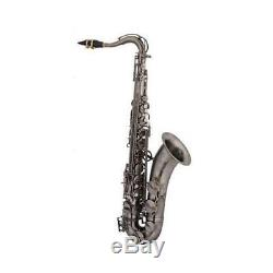 Ravel Bb Tenor Saxophone with Case Vintage Brass Finish
