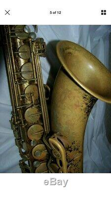 SELMER 164/100 Omega TENOR SAXOPHONE Xclnt Pads/Orig. Case -VERY COOL HORN