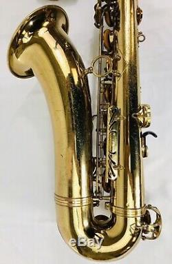 SELMER Mark VII Tenor Saxophone OVERHAULED New Pads, New Case, Flute & Clarinet