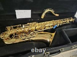 SELMER Tenor Saxophone Soloist Attn Repair Shops- flip Horn