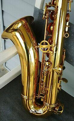 SIMBA TS200 Tenor Sax with Case in Excellent Condition OPEN BOX
