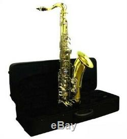 STUDENT TENOR SAX BEGINNER SAXOPHONE with CASE NEW
