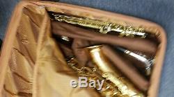 Saxophone Gig Box case for Tenor, Alto and soprano