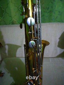 Saxophone Tenor Bundy New pads ready to play no case